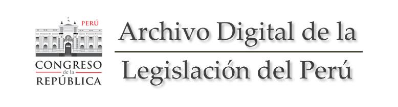 ley vigentes peru: